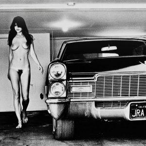 Helmut Newton Fotografie In my Garage/Hollywood 1976